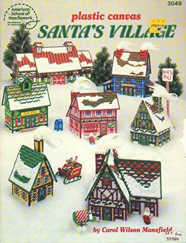 Plastic Canvas Santa's Village Pattern Booklet