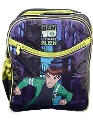 Priority Synthetic Ben 10 Kids School Bag - B0188V0C7I