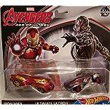 "Hot Wheels - Marvel Avengers ""Age Of Ultron"" - Iron Man & Ultimate Ultron"