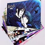 Cosply Anime Black Butler Kuroshitsuji 8 Pcs poster