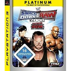 WWE Smackdown vs. Raw 2008 [PS3] für nur 8 € !