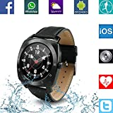 Banaus B3 IP53 Waterproof Sport Fashion Smartwatch With Heart Rate Monitor Bluetooth 4.0 For Samsung S4 S5 S6...
