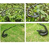 Rubber Lifelike Snakes Scary Gag Gift Incredible Creatures Chain Snakes 52