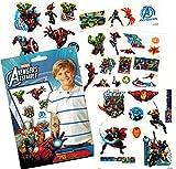 Marvel Avengers Temporary Tattoos (75) Iron Man, Thor, Hulk, Captain America and More!