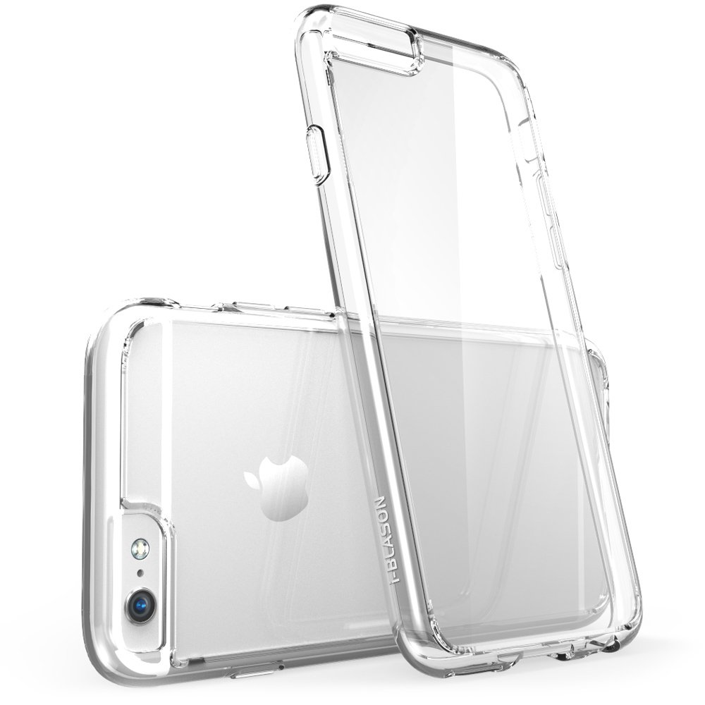 i-Blason **Clear** Halo Series Apple iPhone 6 Plus Case 5.5 inch Hybrid Cover (Clear)