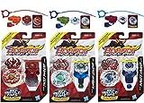 Beyblade Shogun Steel SS-01 Samurai Ifrit, SS-02 Ninja Salamander, SS-08 Pirate Orochi, SS-09 Thief Phoenix, SS-10 Guardian Leviathan & SS-13 Pirate Kraken Tops Bundle