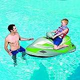 子供用エアー水上バイク 電動ジェットスキー プール 海水浴