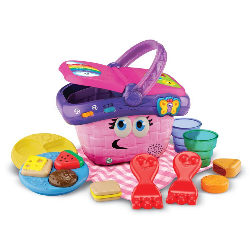 LeapFrog Toddler Picnic Basket Children Learning Toys Baby ...