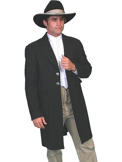 Men's Vintage Style Coats and Jackets Wool Frock Coat  AT vintagedancer.com