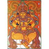 "Dolls Of India ""Goddess Lakshmi"" Reprint On Paper - Unframed (44.45 X 30.48 Centimeters)"