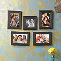 Sifty Collection Collage Photo Frames (4x6) 4, (4x4) 1 Set Of 5 Pcs - B01J1CQLRS