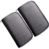 HCSTAR Memory Card Holder SD Card Carrying Case 8 Pages And 22 Slots Waterproof Zippered Storage Bag Set Of 2...