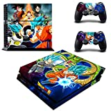 Vanknight Vinyl Decal Skin Sticker Anime Dragon Ball Z Goku & Vegeta for PS4 Playstaion Controllers