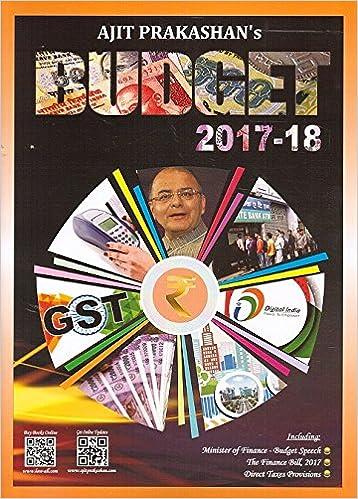 Ajit Prakashan's Union Budget 2017-18