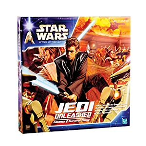 Click to buy Star Wars Jedi Unleashed board game from Amazon!