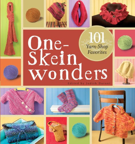 Just In Time For Holiday Crafting: One-Skein Wonder Books!