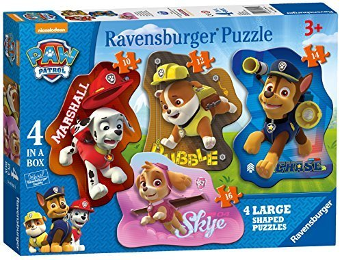Paw Patrol Shaped Jigsaw Puzzles