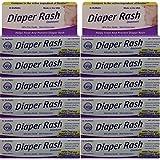 Diaper Rash Ointment To Prevent And Treat Diaper Rash Generic For Desitin Maximum Strength 40% Zinc Oxide 2 Oz. Per Tube Pack Of 12