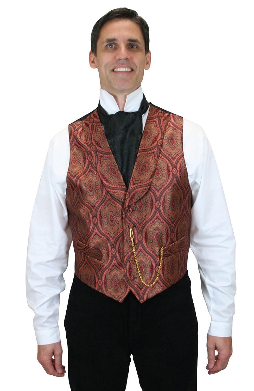 Victorian Men's Vests and Waistcoats Kingsley Dress Vest $64.95 AT vintagedancer.com
