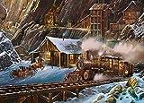 MasterPieces Railways When Gold Ran the Rails Puzzle (1000 Piece)