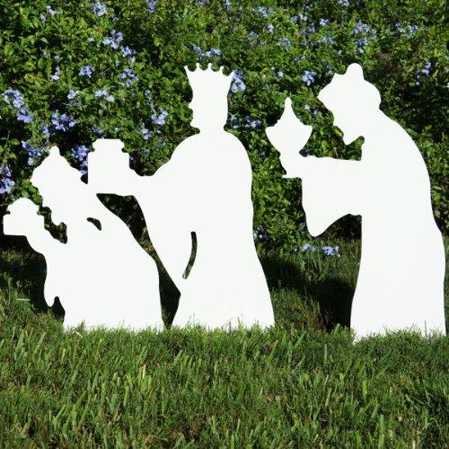 Christmas Outdoor 3-Wise Men Nativity Figures