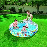 Bestway Toys Domestic Deep Dive 3-Ring Pool, 60 x 12