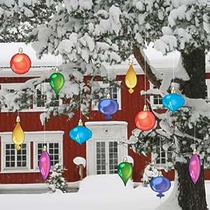 Amazon.com: Christmas Yard Decorations - Vintage Hanging ...