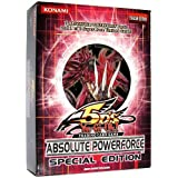 YuGiOh 5Ds Absolute Powerforce SE Special Edition Pack Random Promo Card