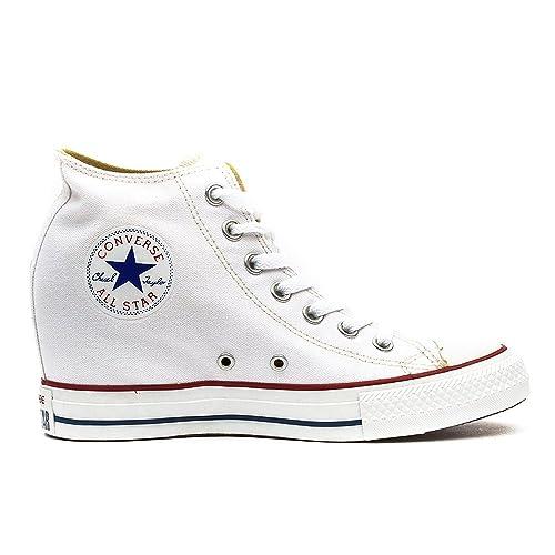 Converse Chuck Taylor Mid Lux Canvas donna, tela, sneaker alta, 40.5 EU