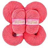 Vardhman Acrylic Knitting Wool, Pack Of 6 (Pack Of 12)