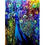 Digital Painting Peacocks Painting On Fine Art Paper 13x19