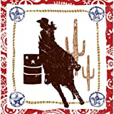 Western Lasso Cowgirl Lunch Napkins (16 count) Party Accessory