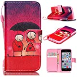 6S Plus Case,iPhone 6S Plus Case,With Strap Wristlet Slim PU Leather Case Wallet Cases Magnetic Closure Case For... - B019C3GWJI