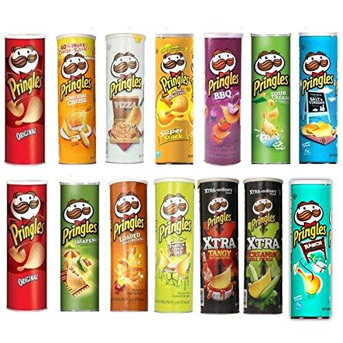 【賞味期限2016年5月】プリングルズ(Pringles)13種類14個セット(1個169g※オリジナルのみ161g) [並行輸入品]