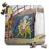 Angelique Cajam India - Fort Gloconda paintings - 10x10 Inch Puzzle (pzl_26797_2)