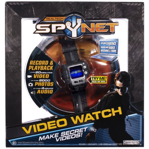 Spy Net: Secret Mission Бейне Watch