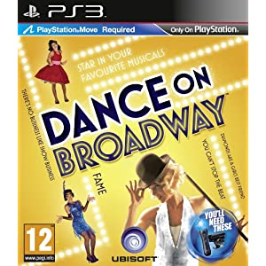 Playstation Move Dance on Broadway Game PS3 [UK-Import]