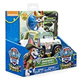 Paw Patrol Trackers Cruiser Jungle Rescue, Vehicle and Pup