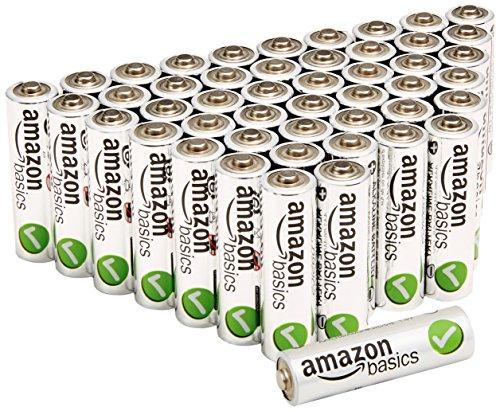 Amazonベーシック アルカリ乾電池 単3形48個パック