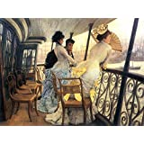 The Museum Outlet - The Gallery Of The H.M.S. Calcutta By Tissot - Poster (24 X 18 Inch)