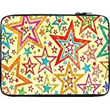 Snoogg Star Studded 12 To 12.6 Inch Laptop Netbook Notebook Slipcase Sleeve