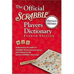 Click to buy Official Scrabble Dictionary from Amazon!