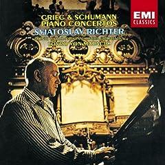 国内盤リヒテル独奏 マタチッチ指揮 シューマン&グリーグ ピアノ協奏曲の商品写真