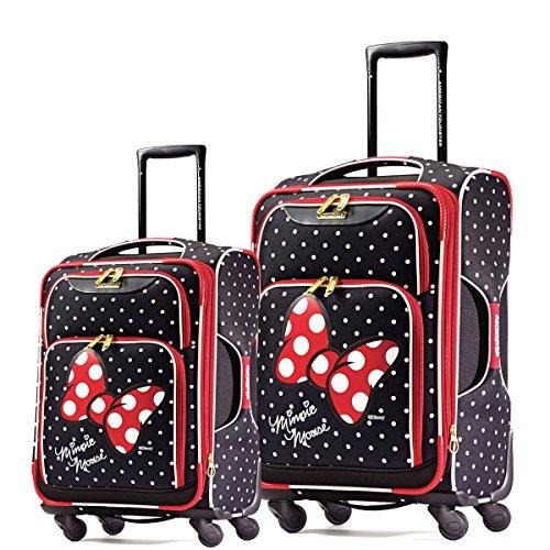 9c4b570992 ... Tourister Disney Minnie Mouse 2 Piece Set 21   28 Softside Spinner  Disney Minnie Mouse Red Bow