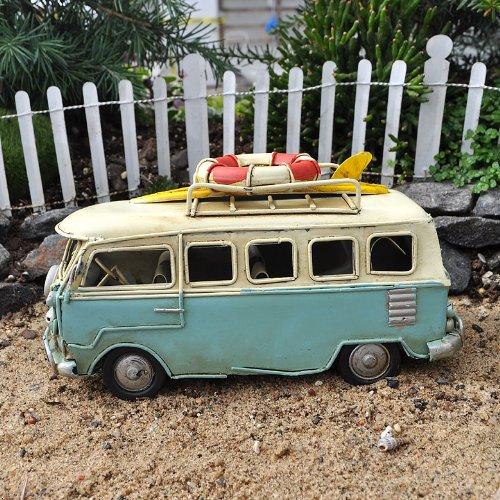 Miniature Fairy Garden Beach Bus