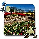 Danita Delimont - Gardens - Italy, Amalfi Coast, Ravello, Villa Rufolo Garden - EU16 TEG0512 - Terry Eggers - 10x10 Inch Puzzle (pzl_138321_2)