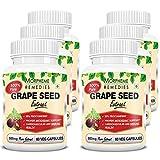 Morpheme Grape Seed Extract 500mg Extract 60 Veg Caps - Buy 3 Get 3 Free