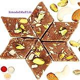Ghasitarams Sweets Bhaidooj Gifts- Chocolate Kaju Katli 400 Gms