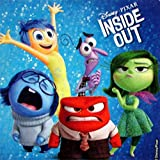 DISNEY INSIDE OUT STICKERS- Inside Out Birthday Party Favor Sticker Set Consisting of 45 Stickers Featuring 6 Different Designs With Joy, Anger, Fear, Disgust and Sadness, Measuring 2.5
