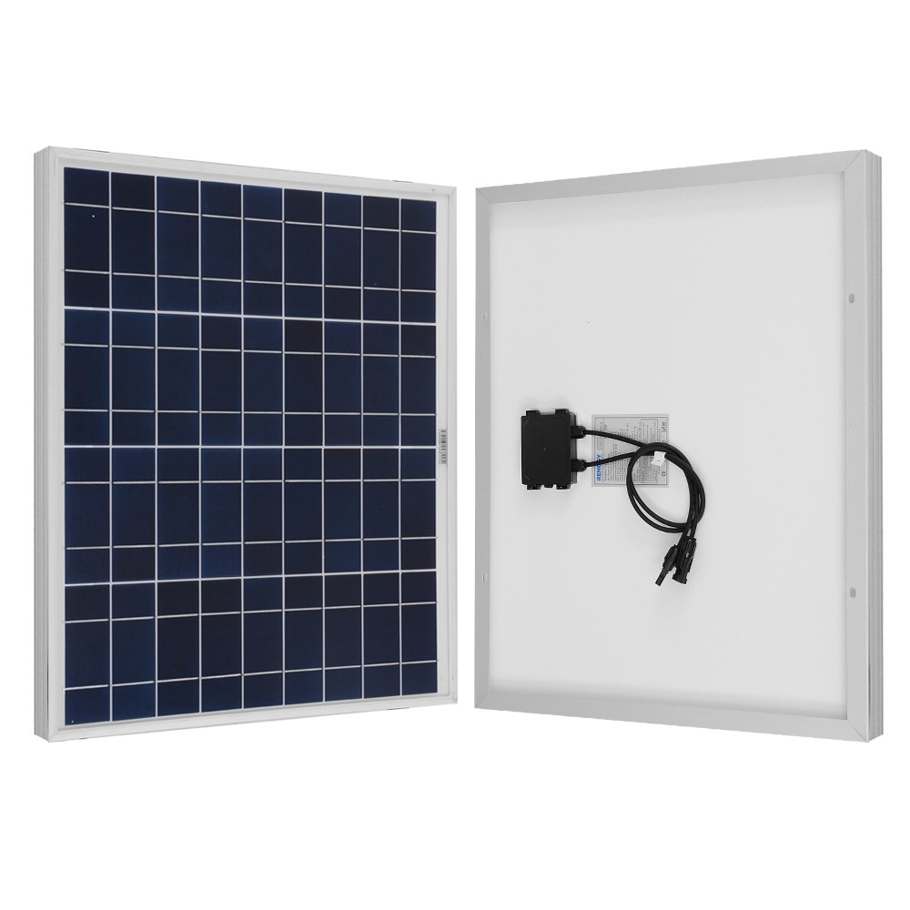 RENOGY 50 Watt Poly Solar Panel UL Listed Off Grid 12 Volt Review